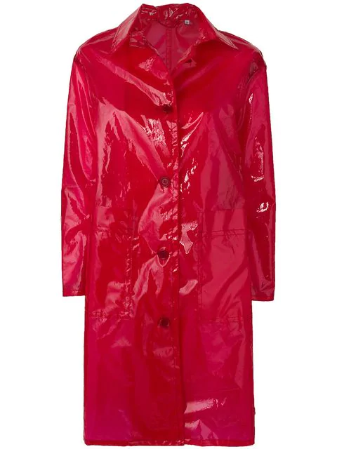 Aspesi 'GelÈE' Raincoat In Red