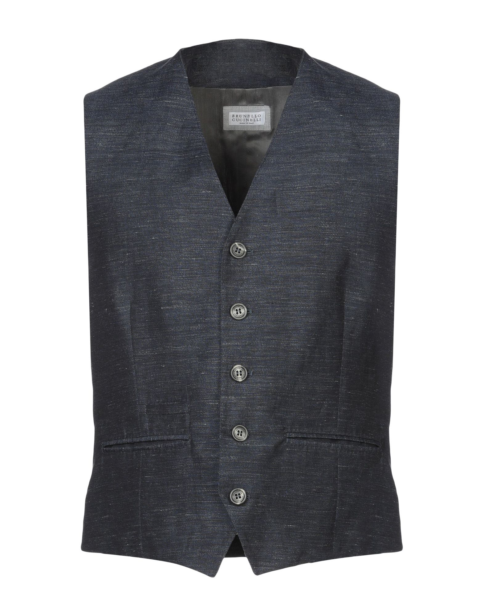 Brunello Cucinelli Suit Vest In Dark Blue