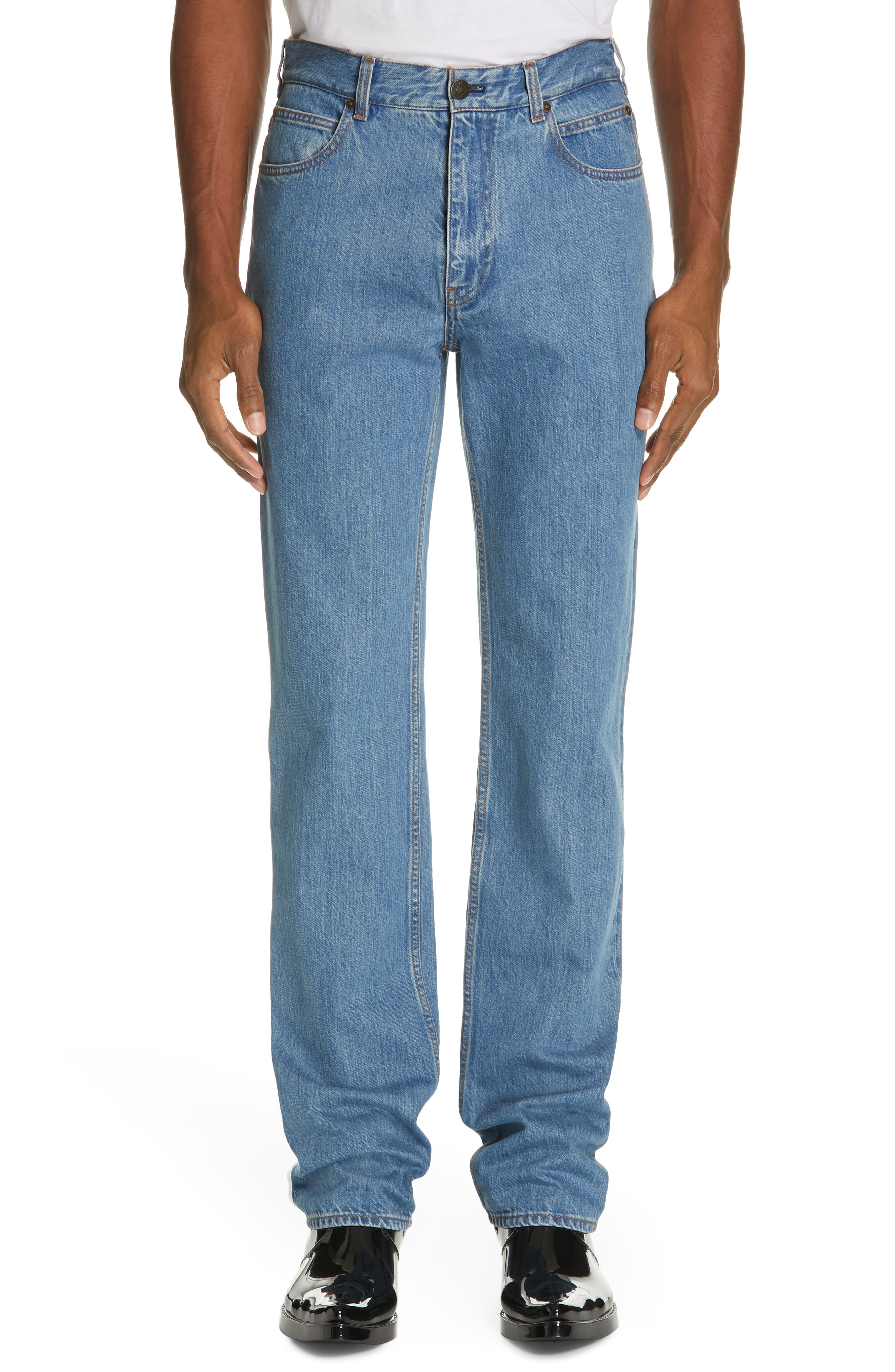Calvin Klein 205W39Nyc Jeans In Blue  3d8fb96c7