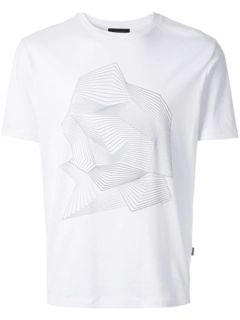 D'urban Graphic Print T-shirt In White