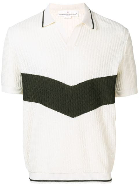 Golden Goose Harry Polo Shirt In White