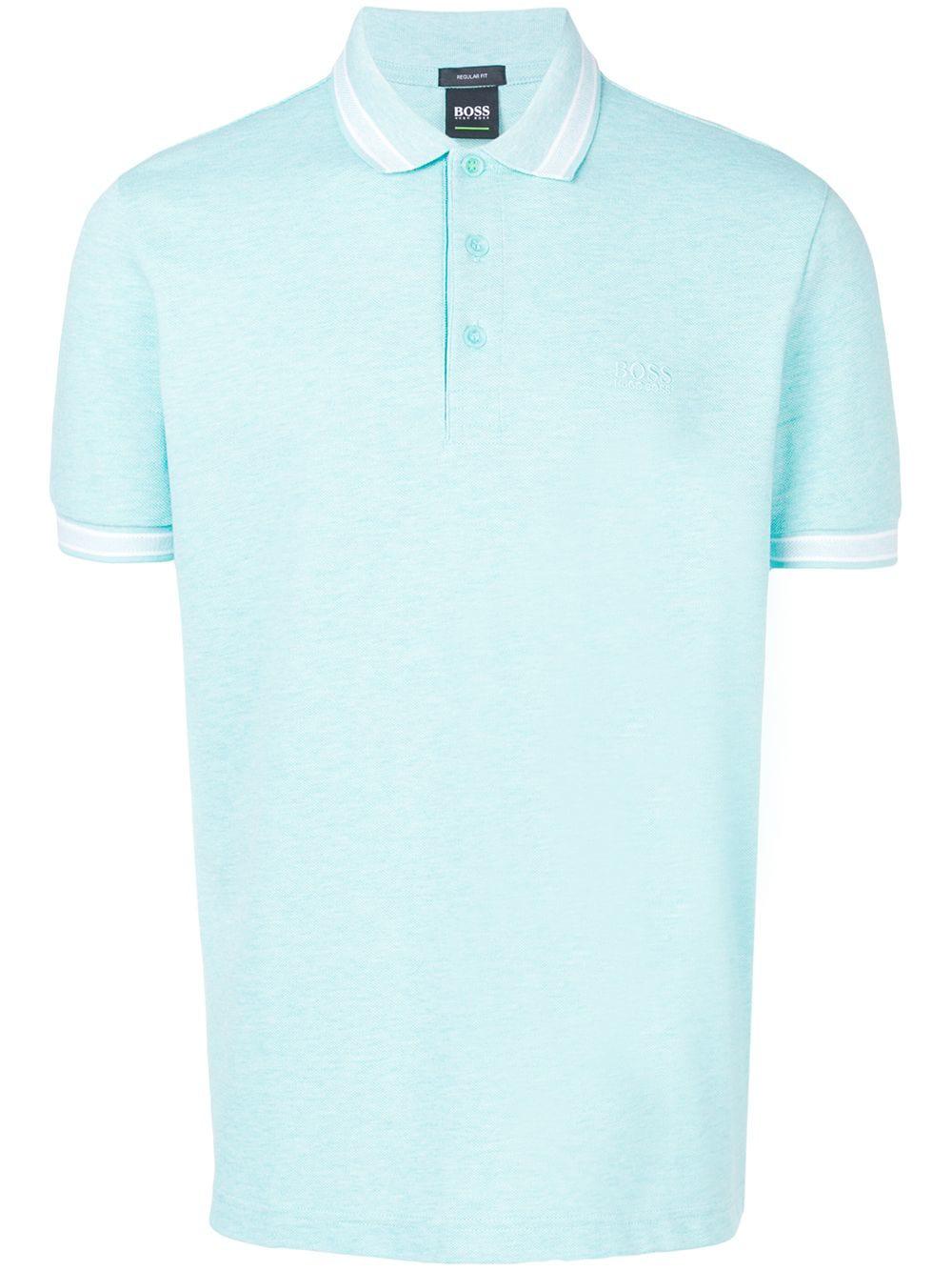 c8ec02926 Boss Hugo Boss Embroidered Logo Polo Shirt - Blue