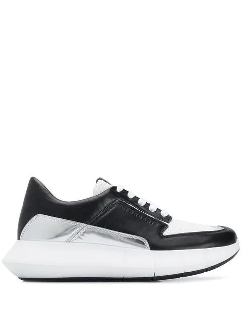 Clergerie Klassische Sneakers In Black