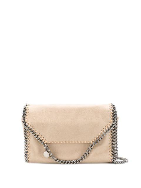 Stella Mccartney Falabella Crossbody Bag In Neutrals