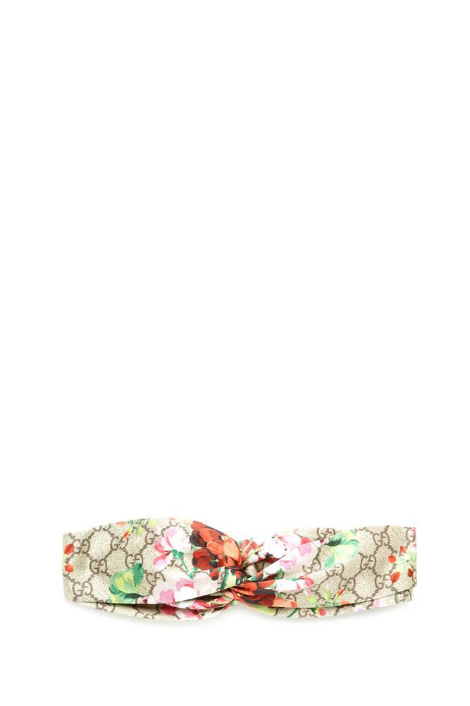 e7c5db1ae3c Gucci Floral Print Headband In Multi