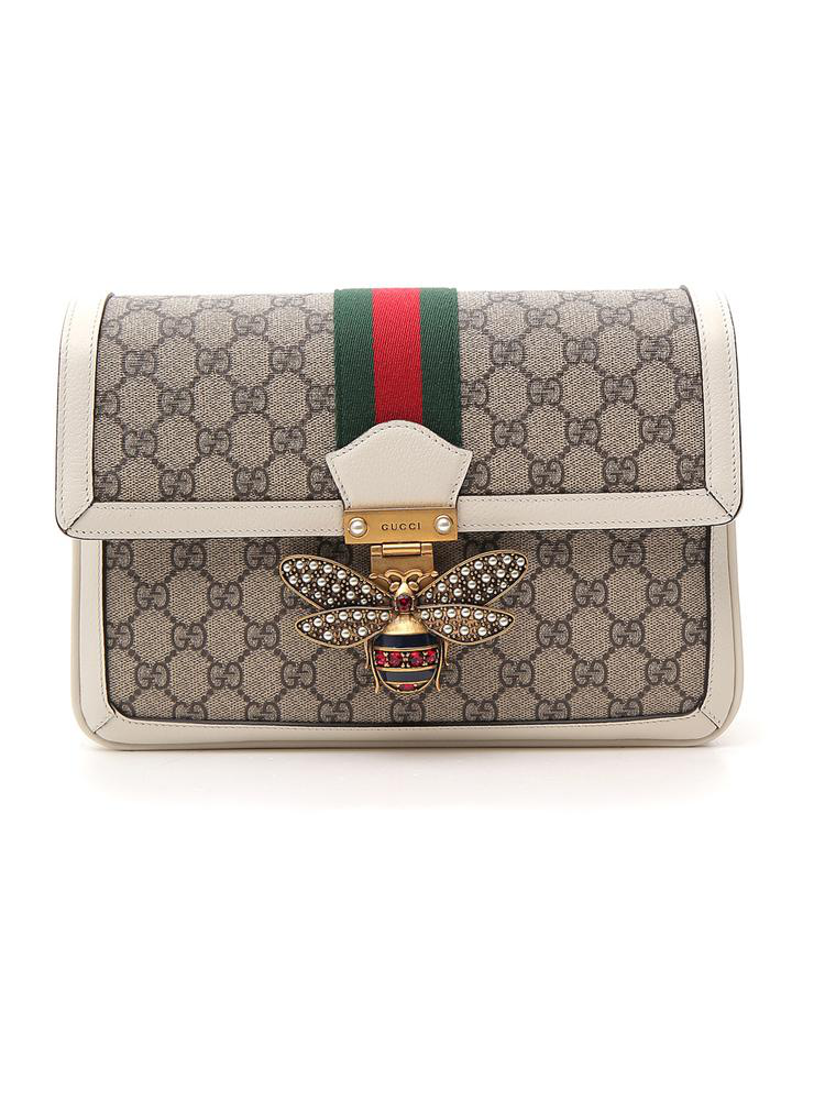 979d61574ae Gucci Queen Margaret Gg Supreme Medium Shoulder Bag In Multi. CETTIRE