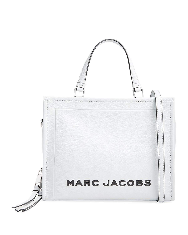 5859437ea2a9 Marc Jacobs The Box Shopper 29 Crossbody Bag In White