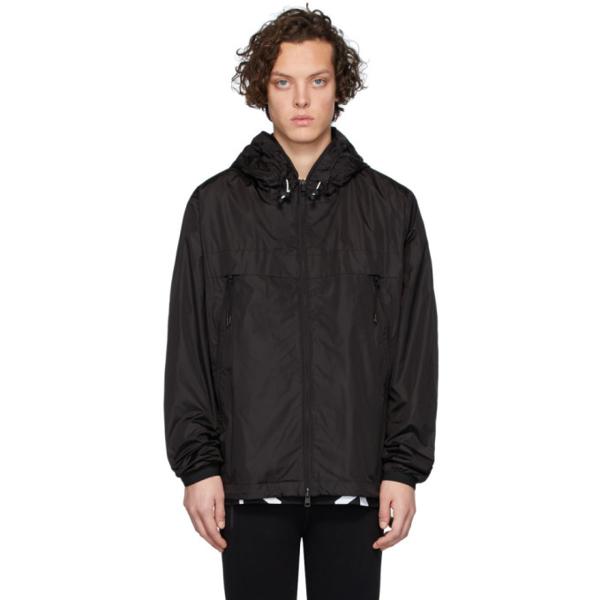 Moncler Black Massereau Hooded Jacket In 999 Black