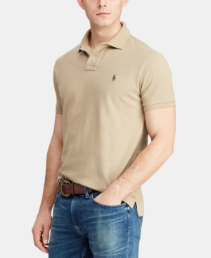 Classic Fit Men's Mesh Shirt Cotton Polo mONvy0Pw8n