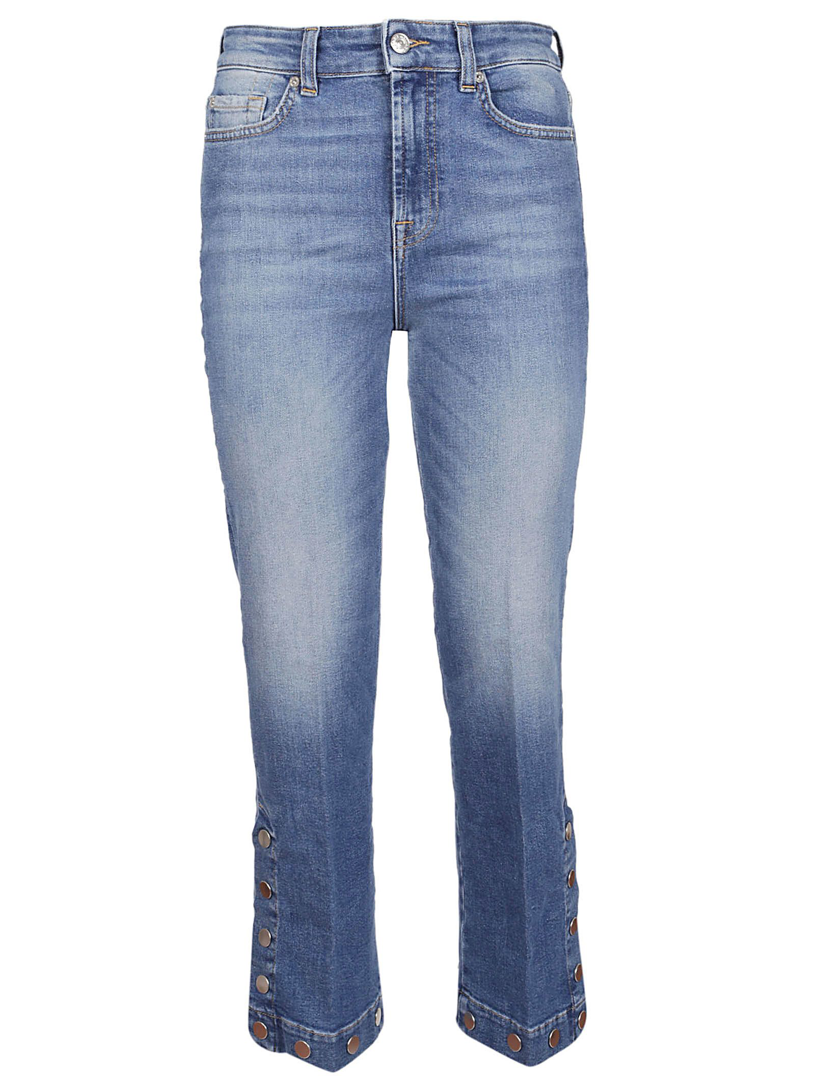 7 For All Mankind Cropped Bootcut Jeans In Fxroberson