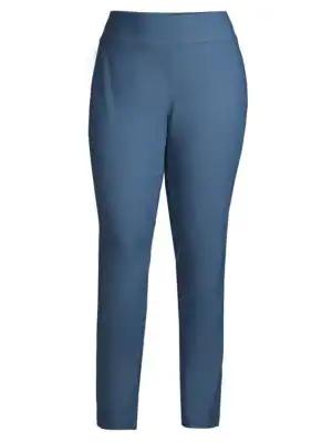 Nic+zoe Plus Women's Wonderstretch Pants In Indigo Sea