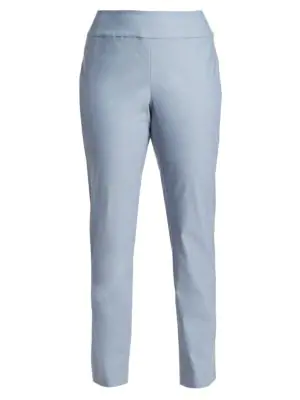 Nic+zoe Plus Women's Wonderstretch Pants In Light Stone