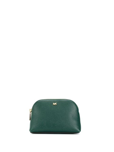 Michael Michael Kors Trio Travel Pouch Set In Green
