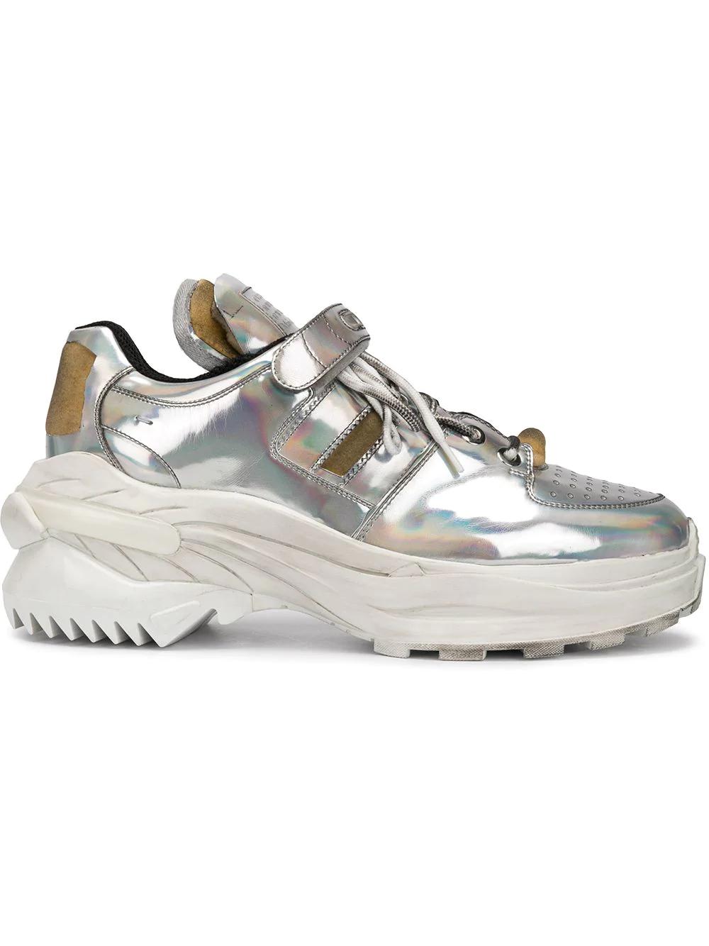 Silver Maison Fit Retro Margiela Sneakers 4Ajqc35RLS