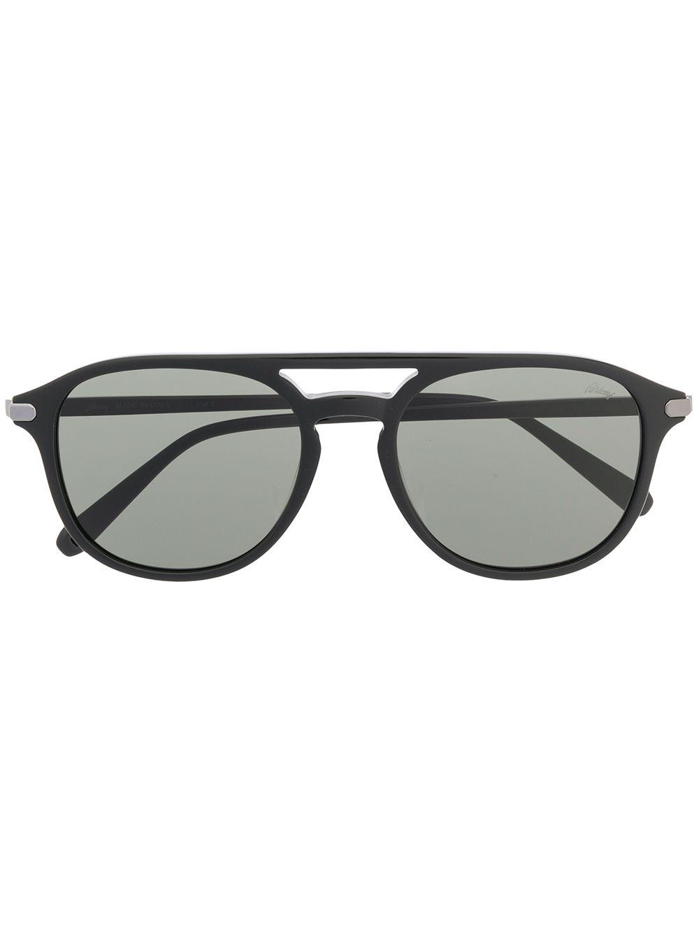 1b8cc0d34774 Brioni Square Sunglasses - Black   ModeSens