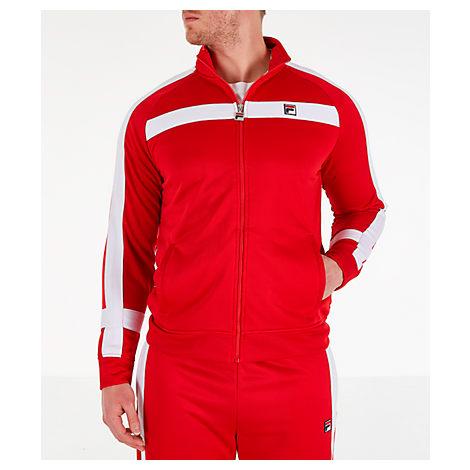 Fila Men's Renzo Track Jacket In Red