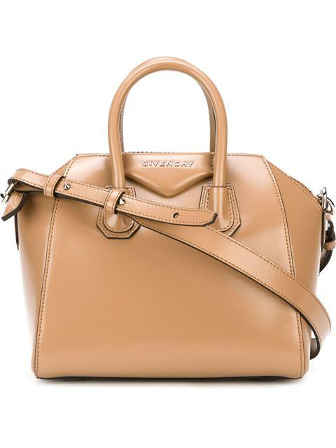 Givenchy Medium Smooth Antigona Tote In Neutral