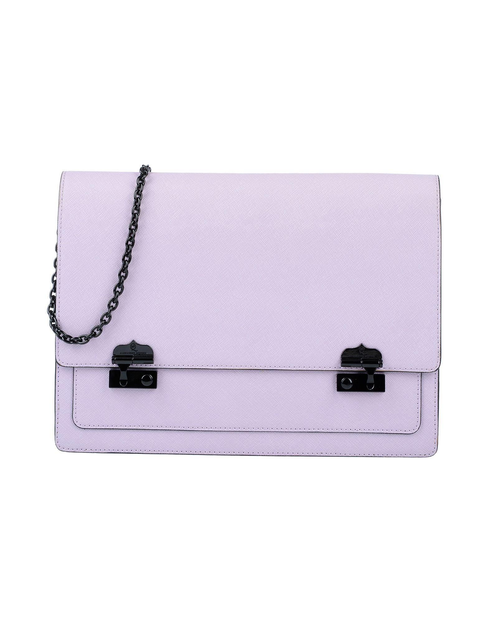 Mcq By Alexander Mcqueen Handbags In Lilac | ModeSens