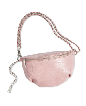 Steve Madden Ida Belt Bag In Blush/Silver