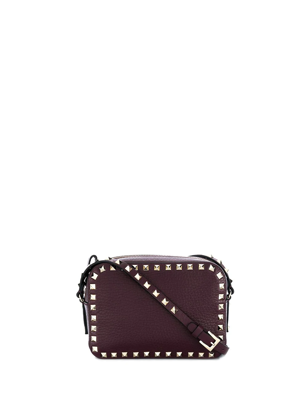 0b67fdf22c Valentino Garavani Rockstud Camera Crossbody Bag - Purple | ModeSens