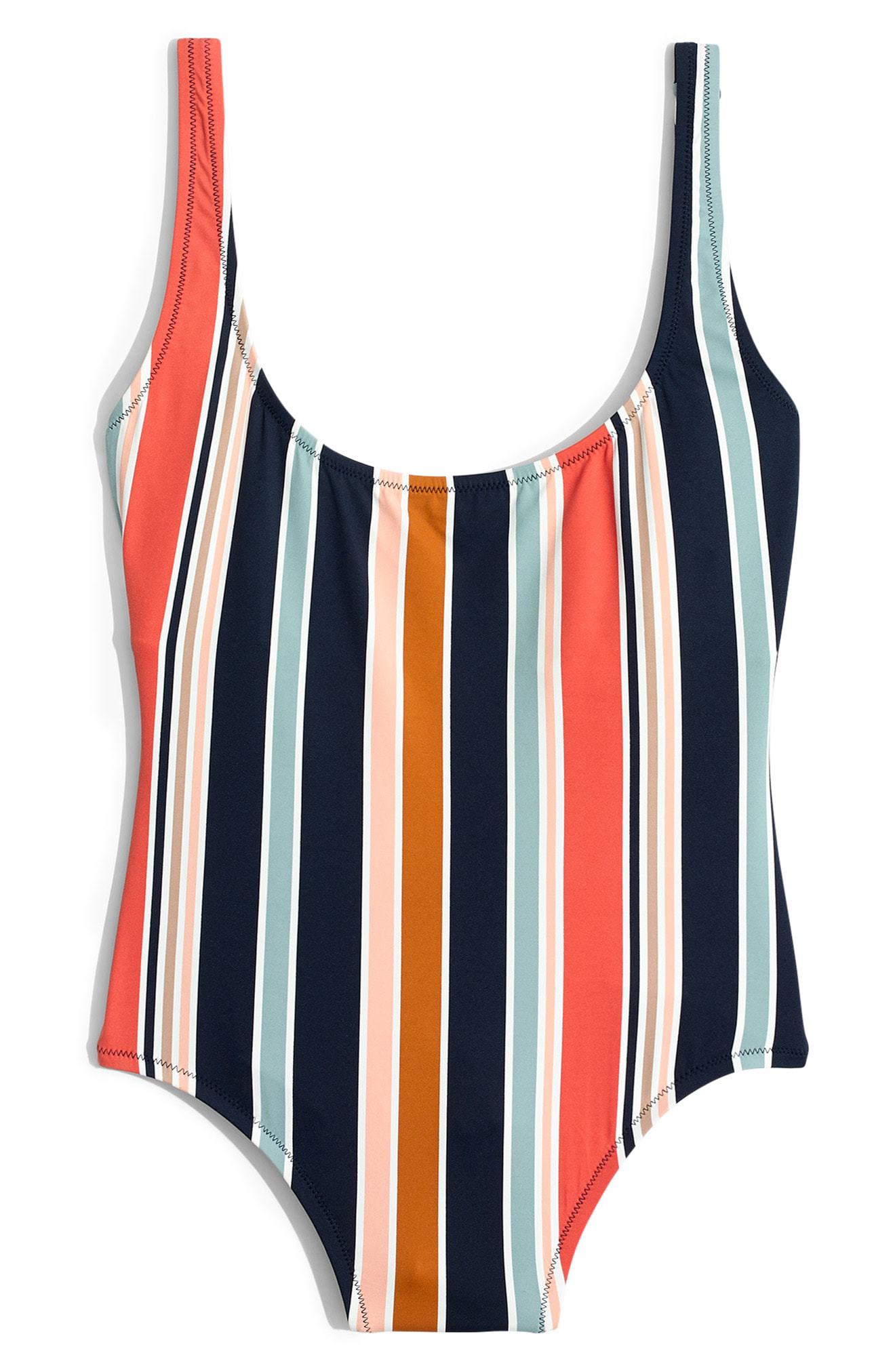 9c9508bd45b5a Madewell Second Wave Tank One-Piece Swimsuit In Deep Navy | ModeSens