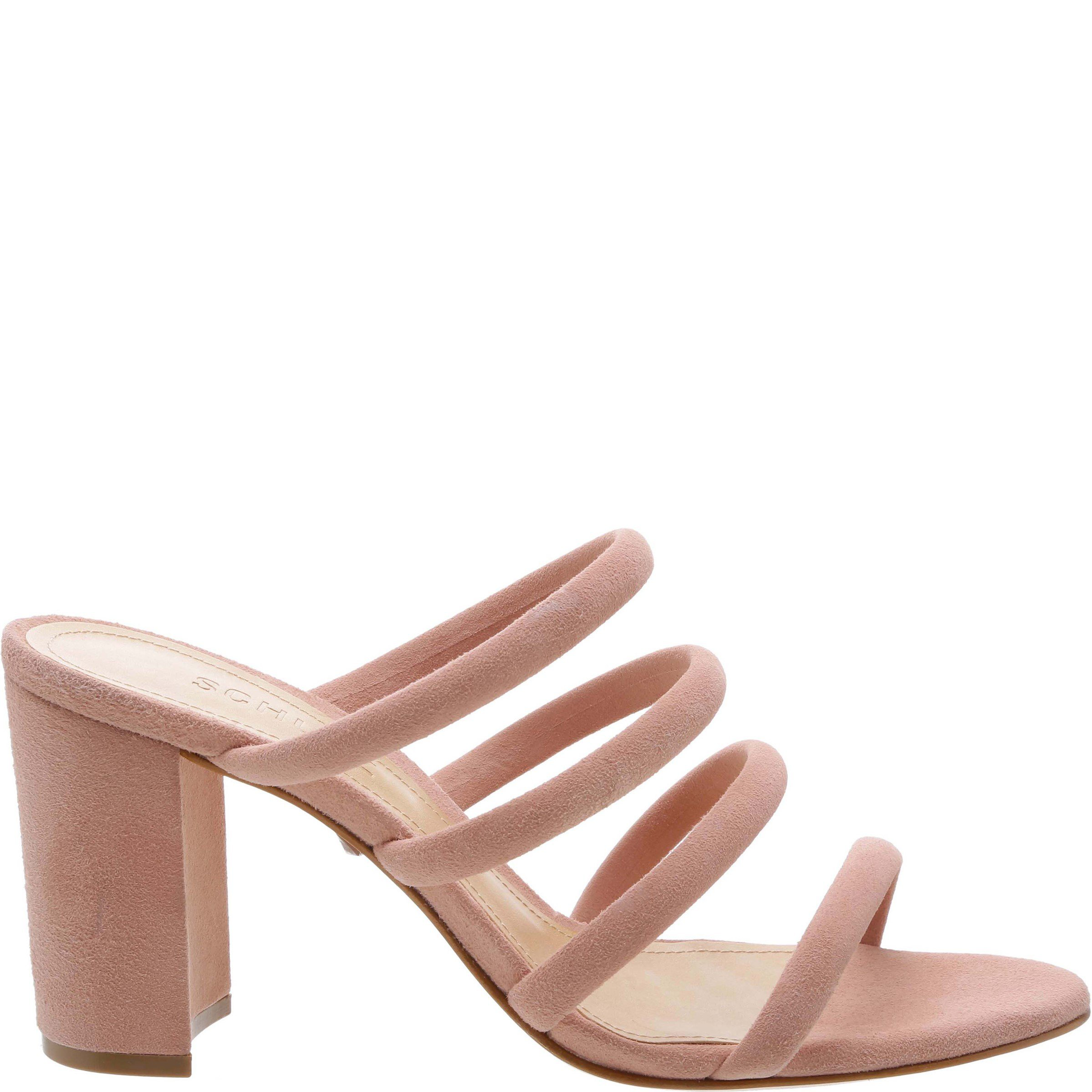 847eb996f45e Minimalist tube straps heighten the contemporary-chic appeal of this block-heel  sandal. Style Name  Schutz Felisa Block Heel Sandal (Women).