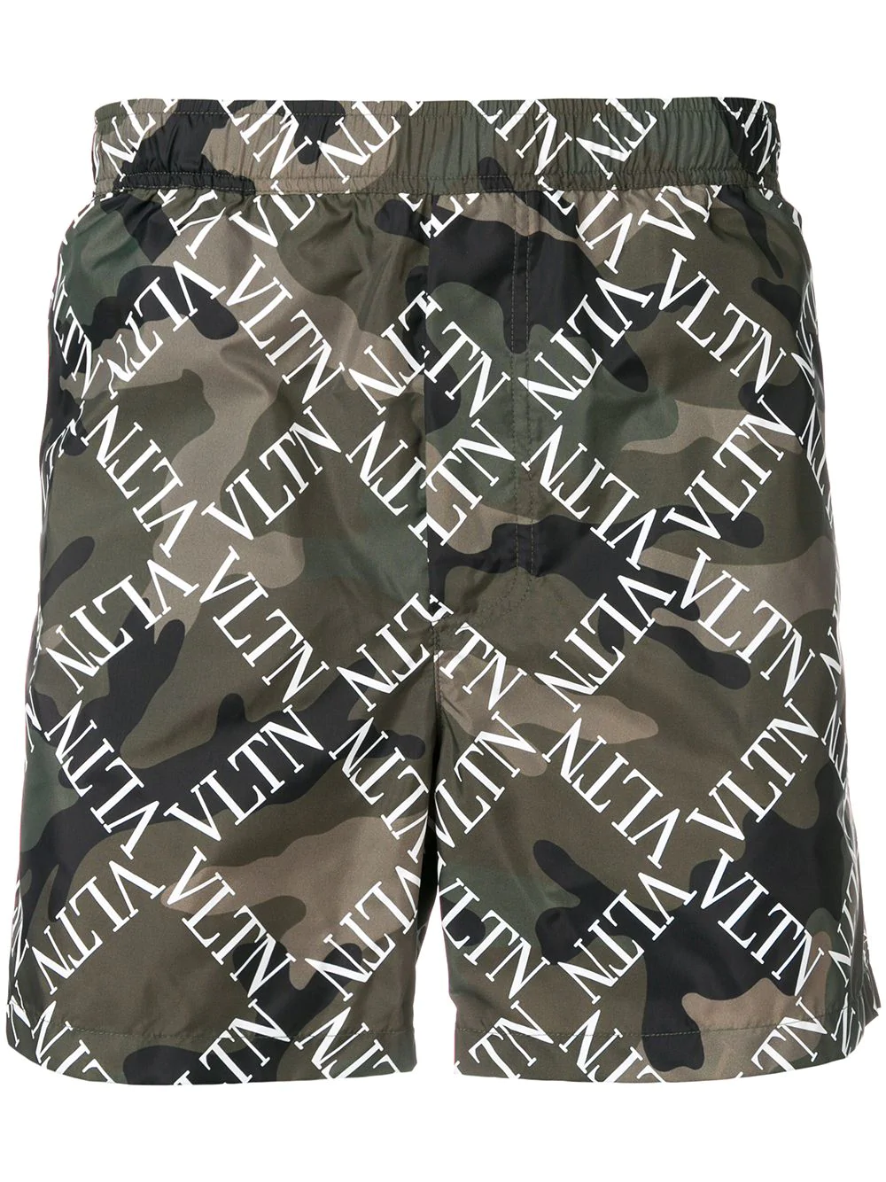 312fb66c13 Valentino Vltn Camouflage Swim Shorts - Green | ModeSens