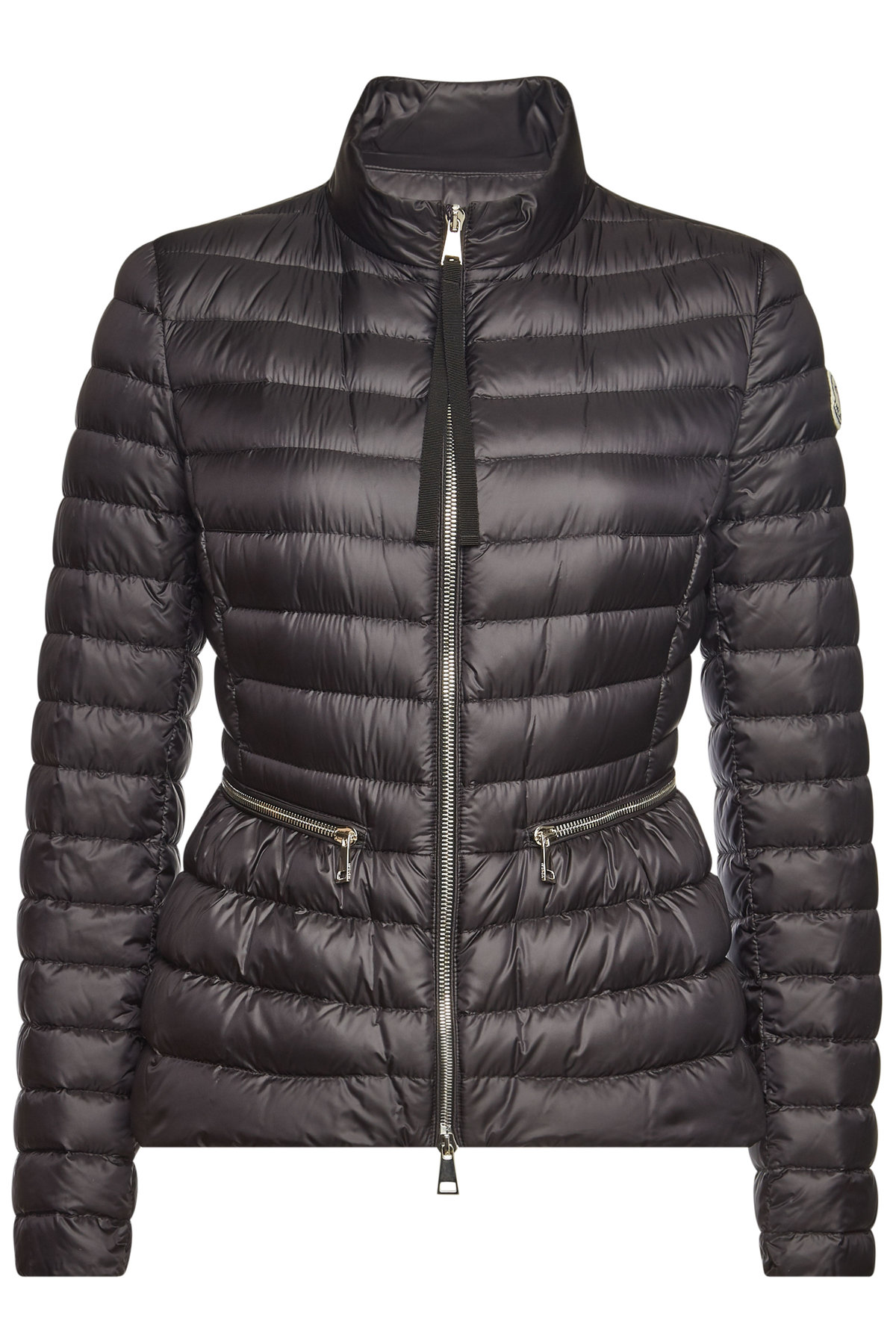 Moncler Agate Quilted Down Jacket In Black | ModeSens