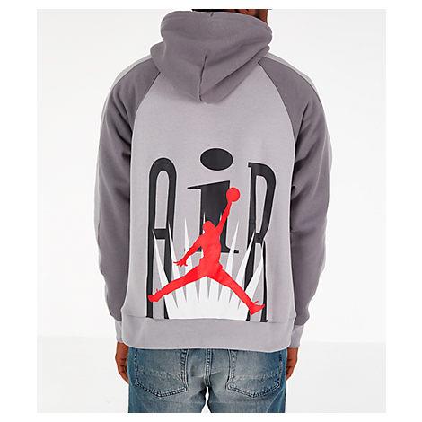 femminile In realtà Al di là  Nike Jordan Men's Jordan Legacy Flight Nostalgia Aj 9 Hoodie, Grey - Size  Large | ModeSens