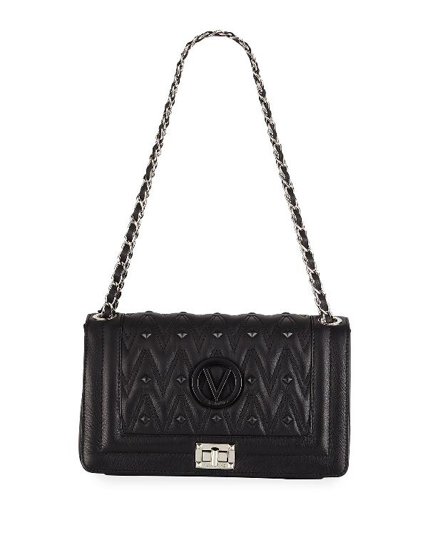 8cee8e379f7 Valentino By Mario Valentino Alice D Studded Leather Crossbody Bag In Black