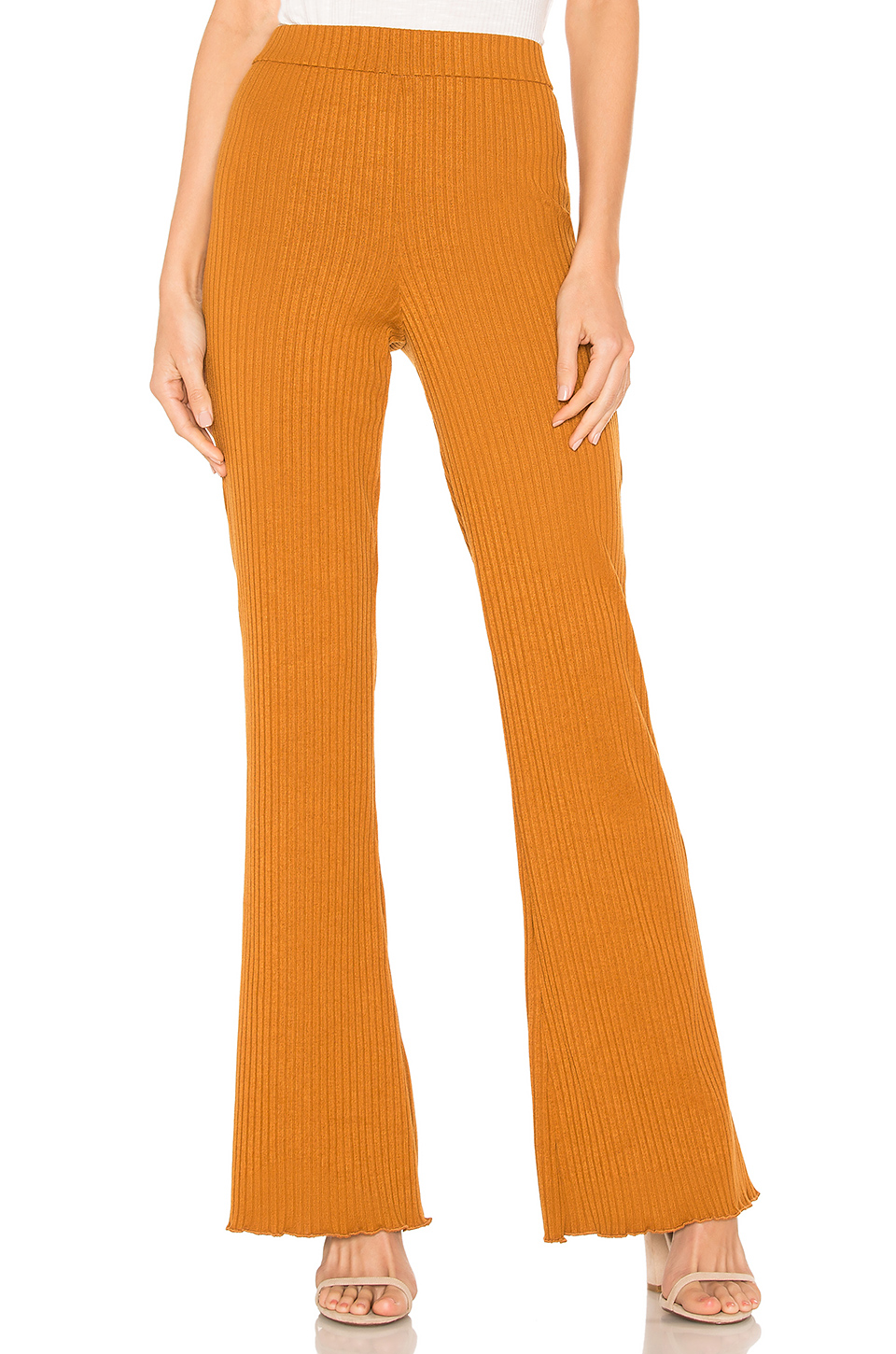 House Of Harlow 1960 X Revolve Anton Pant In Cognac. In Toffee