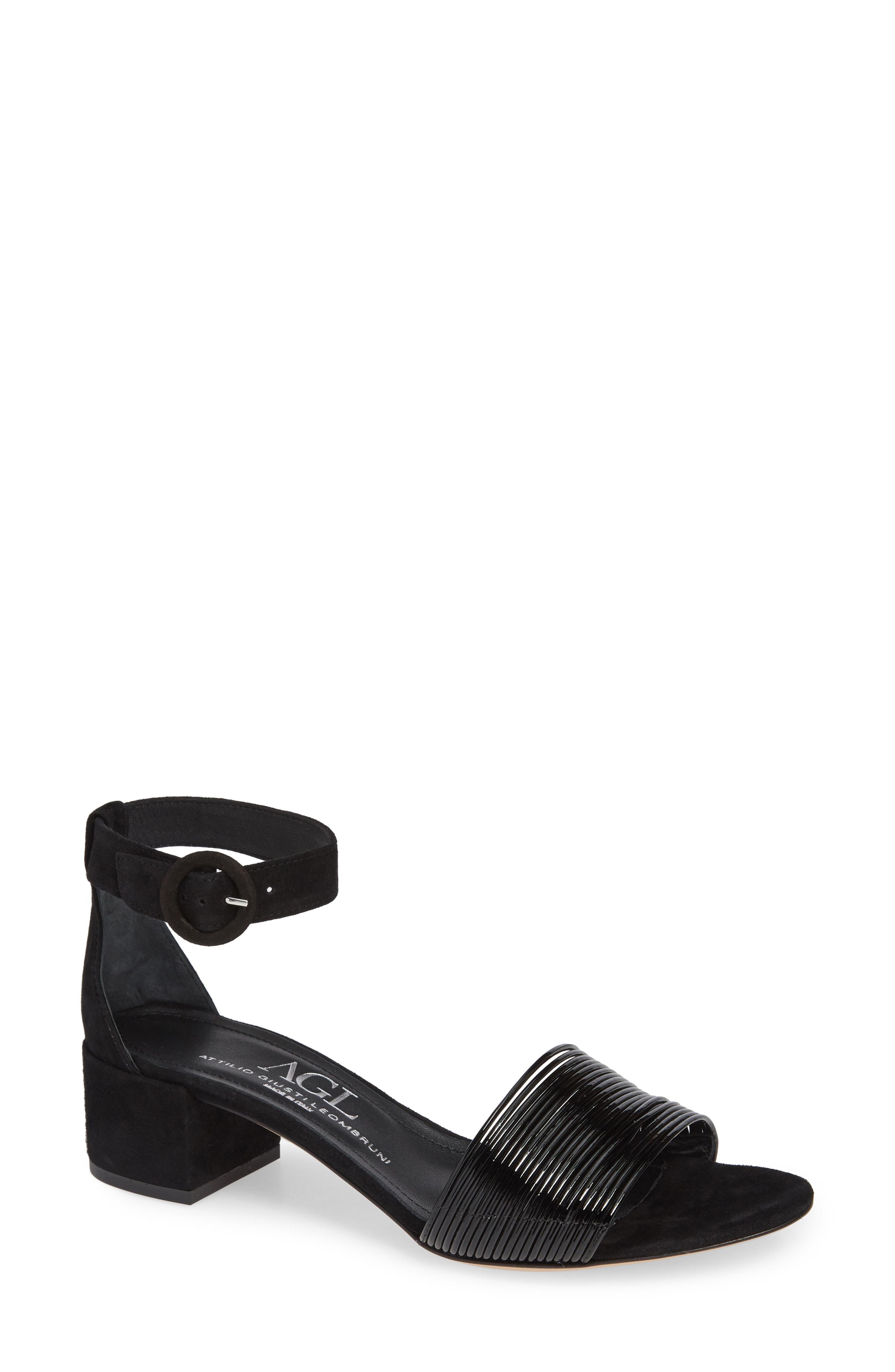2ef7c9a7a0a Agl Attilio Giusti Leombruni Ankle Strap Sandal In Platinum Leather ...