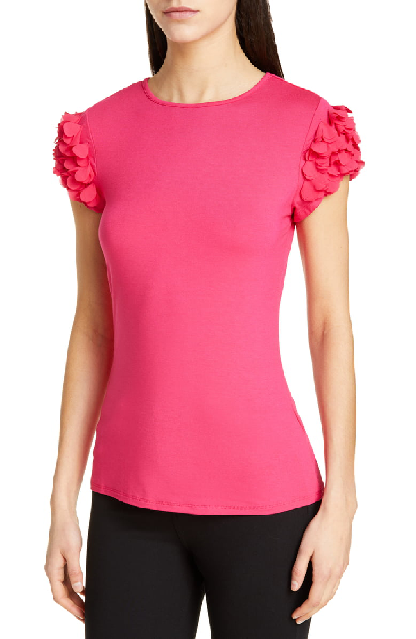 02e63f935 Ted Baker Blere Floral AppliquÉ Tee In Pink   ModeSens