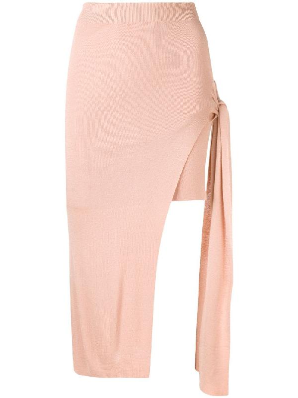 86f2356ca Jacquemus La Jupe Lodosa Wrap Skirt In Neutrals | ModeSens