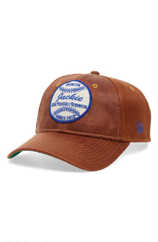 New Era Jackie Robinson 9Twenty Baseball Cap - Brown