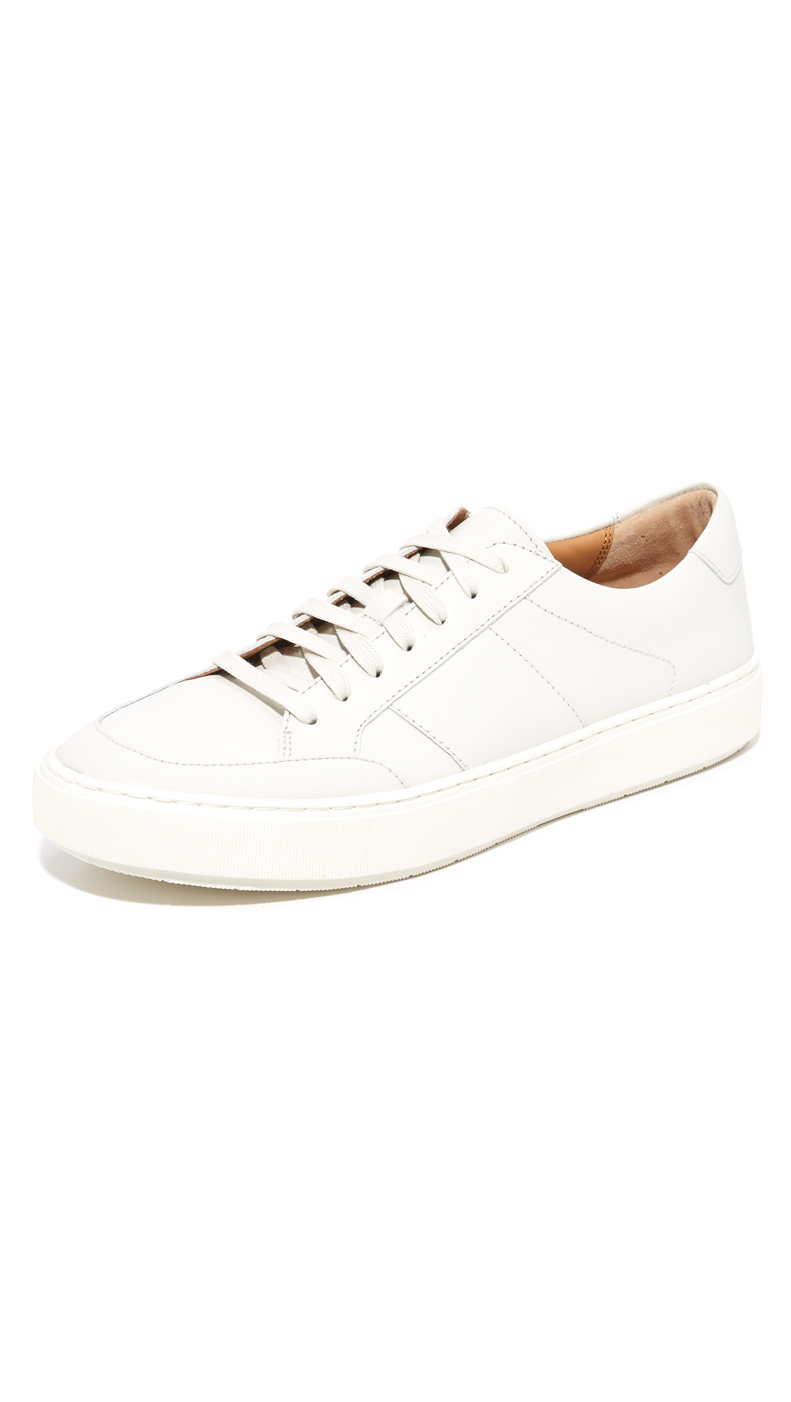 3019d6f8b75 Vince Men's Lynford Suede Low-Top Sneakers In White | ModeSens