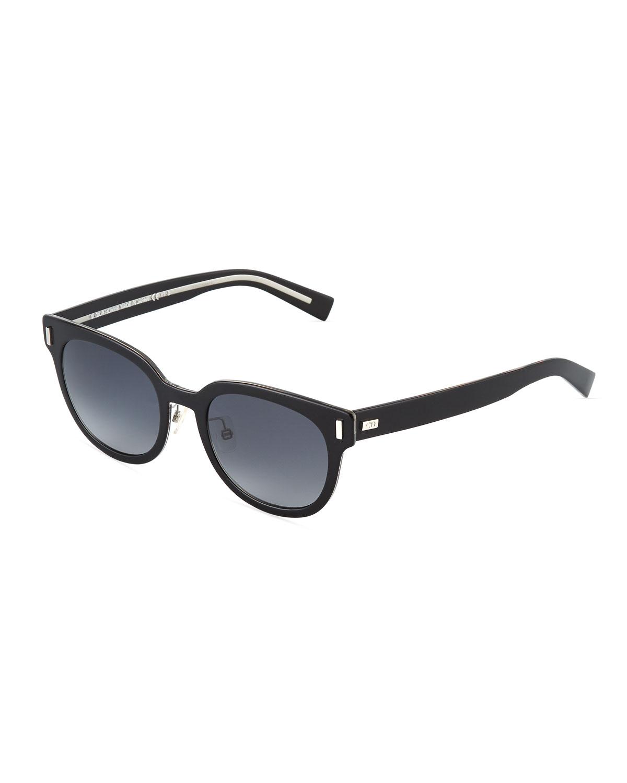 51b7a0619095 Dior Thick Square Acetate Sunglasses In Black