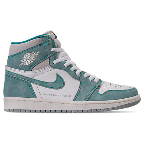 big sale 3adfe 618db Nike Men s Air Jordan Retro 1 High Og Basketball Shoes, Green