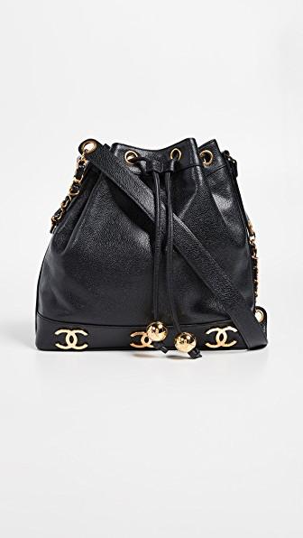 f4d89d1809e2 Chanel Black Caviar 3Cc Bucket | ModeSens