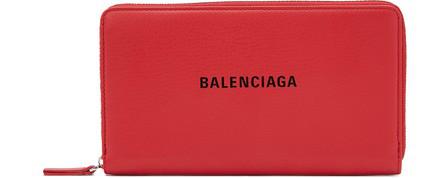 "Balenciaga Everyday"" Continental Wallet"" In 6565"