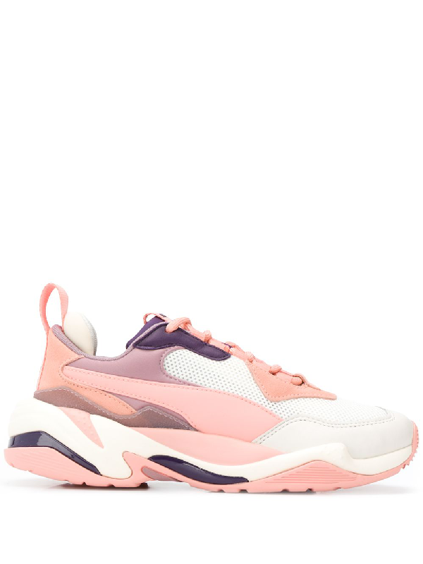 cc312dc89f8 Puma Rose Leather Thunder Spectra Sneakers In Neutrals | ModeSens