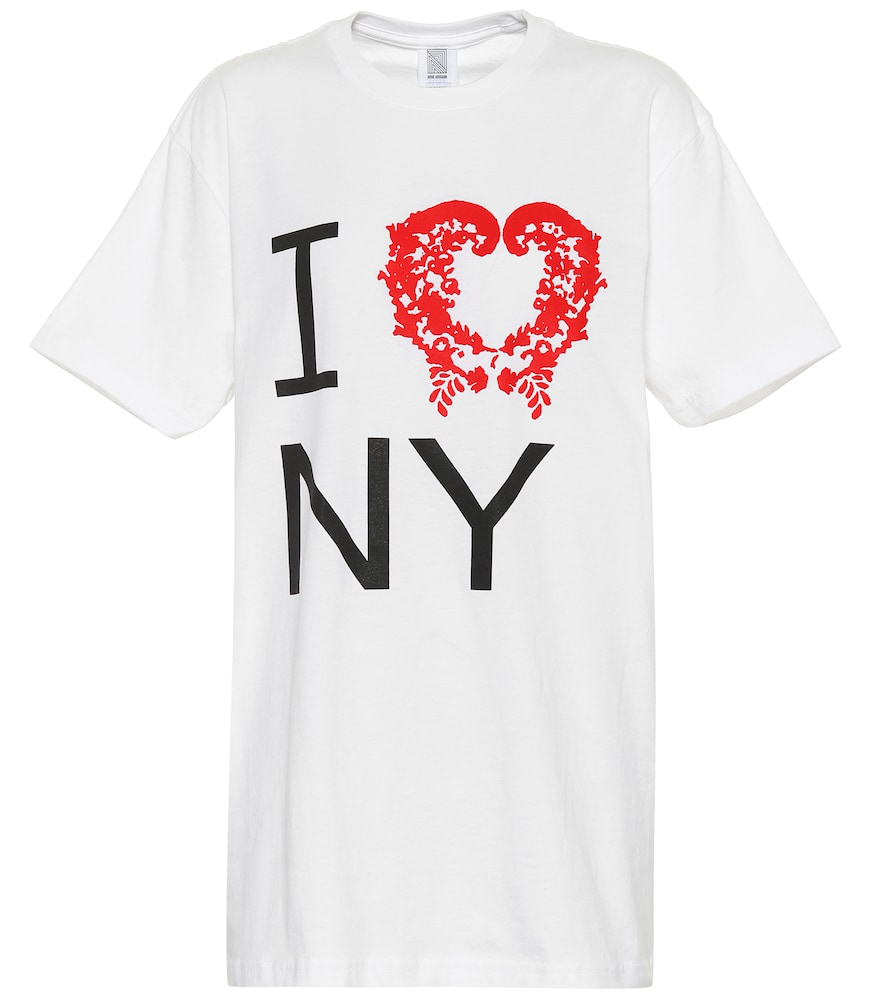 Rosie Assoulin Printed Cotton T-Shirt In White