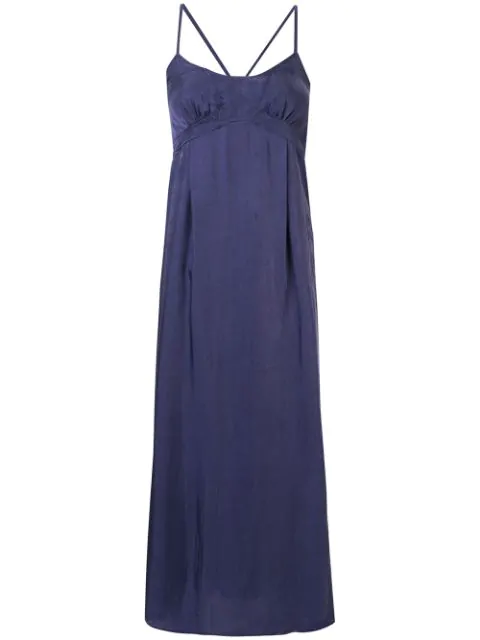 Muller Of Yoshiokubo Majorelle Cami Dress In Purple
