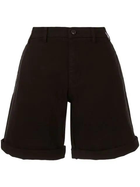 N°21 Flared Shorts In Black