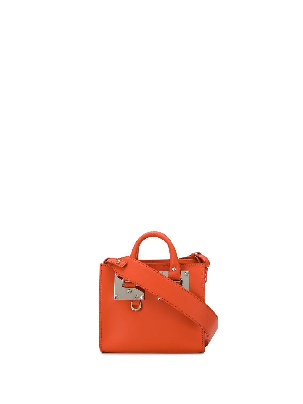Sophie Hulme Albion Mini Bag - Orange