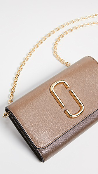 Snapshot Wallet On Chain in French Grey Multi