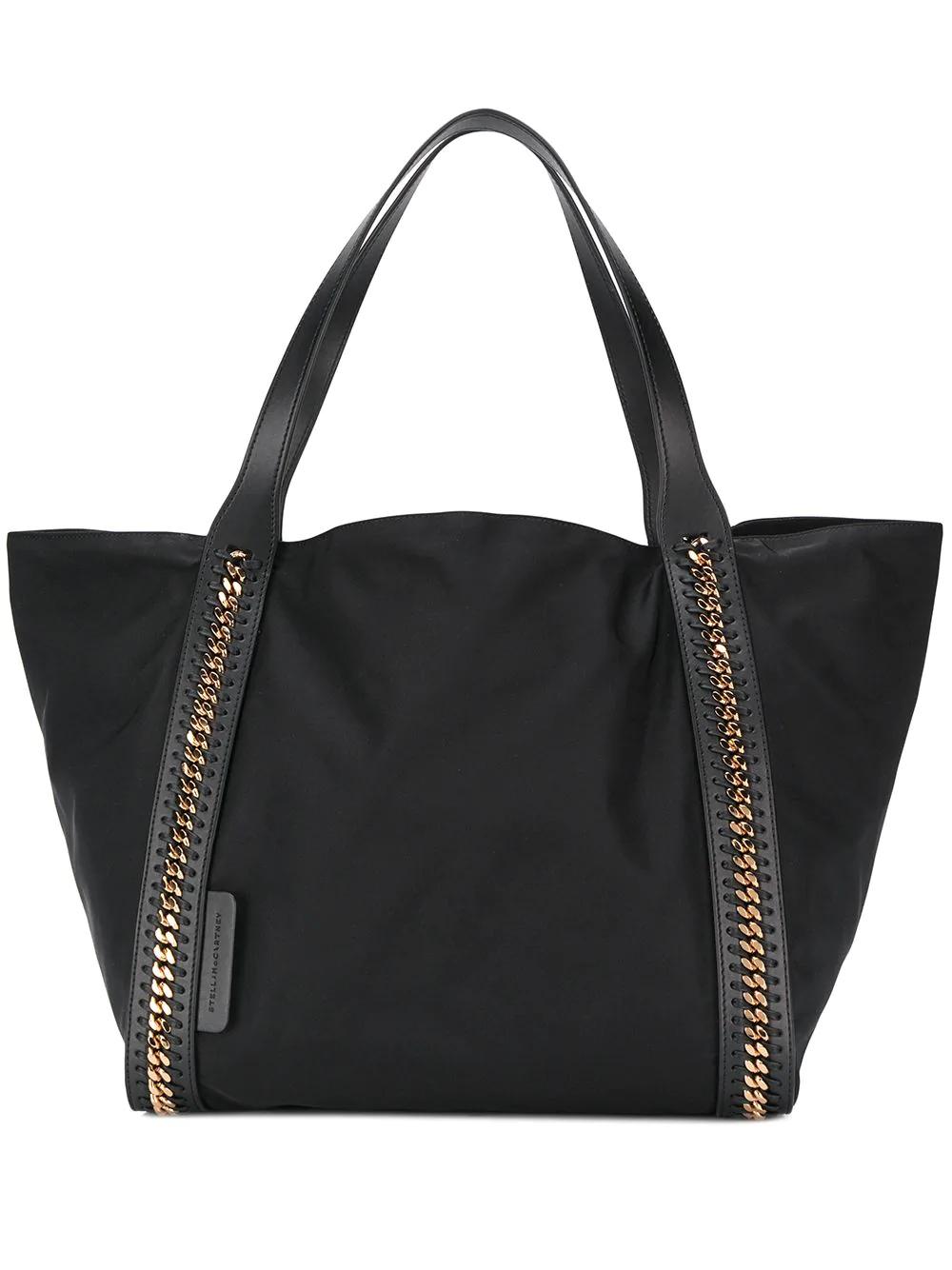 ff683fc8f1f1 Stella Mccartney Falabella Large Tote Bag - Black