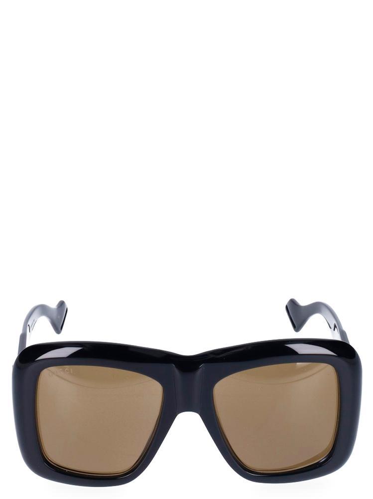 Gucci Eyewear Oversized Sunglasses In Black