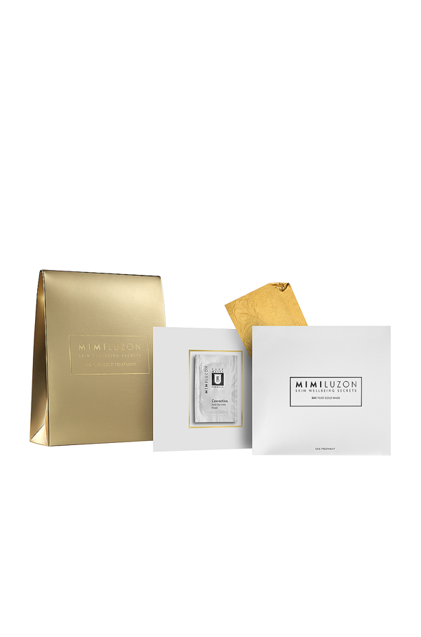 Mimi Luzon 24k Pure Gold Treatment Mask In N,a
