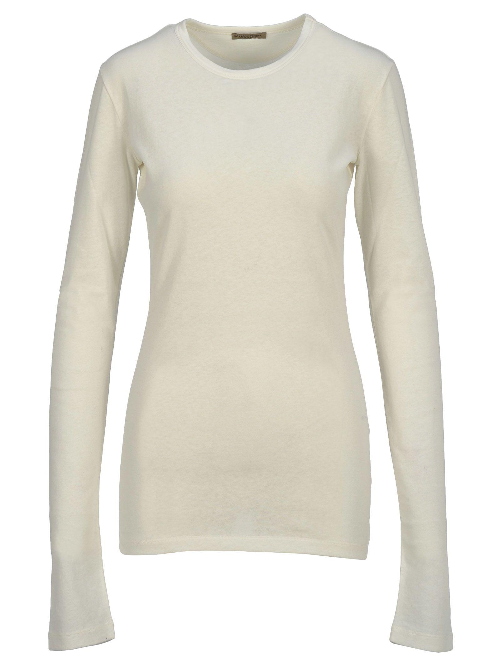 1186bac572c17 Bottega Veneta Longsleeved T-Shirt In Off White | ModeSens